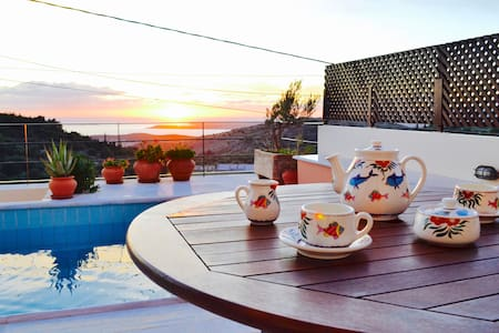 Ionian Villa with amazing view - Villa