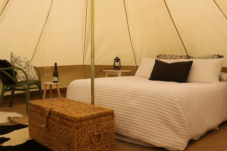 Glamping 4 Metre Bell Tent - Tent