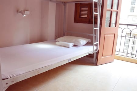 Room type: Shared room Property type: Dorm Accommodates: 8 Bedrooms: 1 Bathrooms: 2