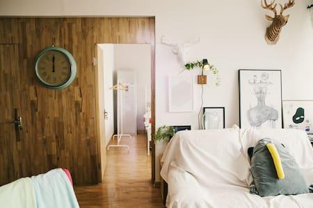 一宅·Room3-厦鼓码头旁10分钟达鼓浪屿设计师海景两房-宁静 - Xiamen - Apartamento