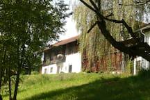 Romantische Wohnung auf altem Hof