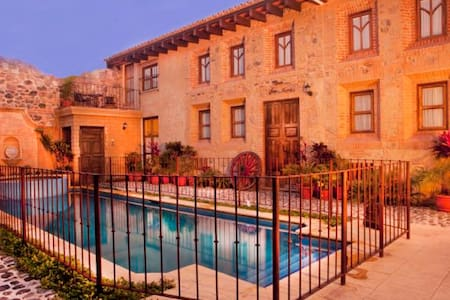 Intimate Castle-like home w/ pool