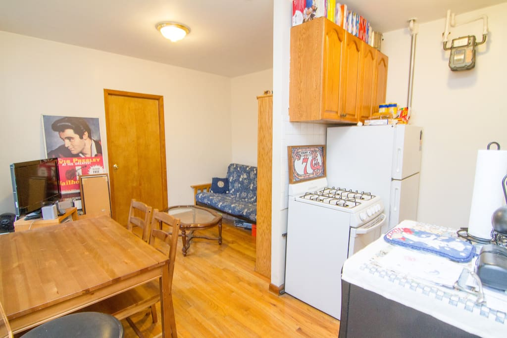 2 BR apt in heart of East Village