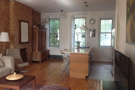 * Spacious GARDEN Park Slope Duplex* 6 people max - Brooklyn - Apartment