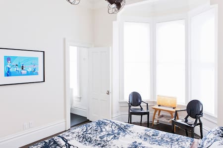 Upscale Sunny Private Bed and Bath - San Francisco - House