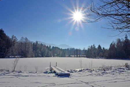 Urlaub auf dem Langerhof-Bergblick - Bad Heilbrunn - Lejlighed
