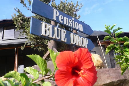 Pension BLUE DROP, a cozy twin room - Yakushima - Bed & Breakfast