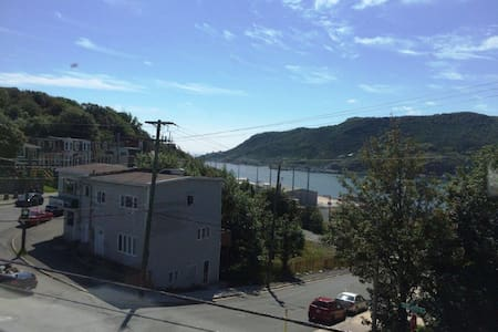 Historic Jellybean with Ocean View - St. John's