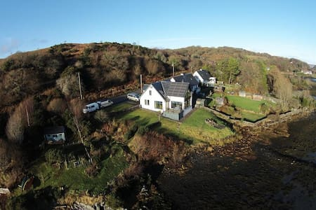 Seil Sound waterfront, Isle of Seil - Clachan-Seil - Дом