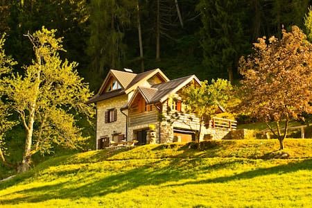 Chalet surrounded by nature