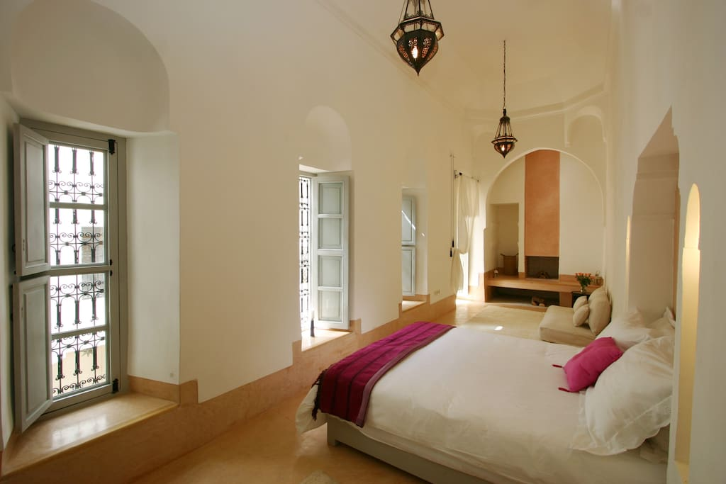 Jasmine room, first floor, with fireplace, private bathroom