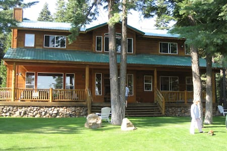 The Lake House on Lake Almanor West - Hus