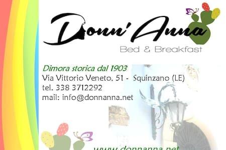 Donn'Anna b&b - Bed & Breakfast