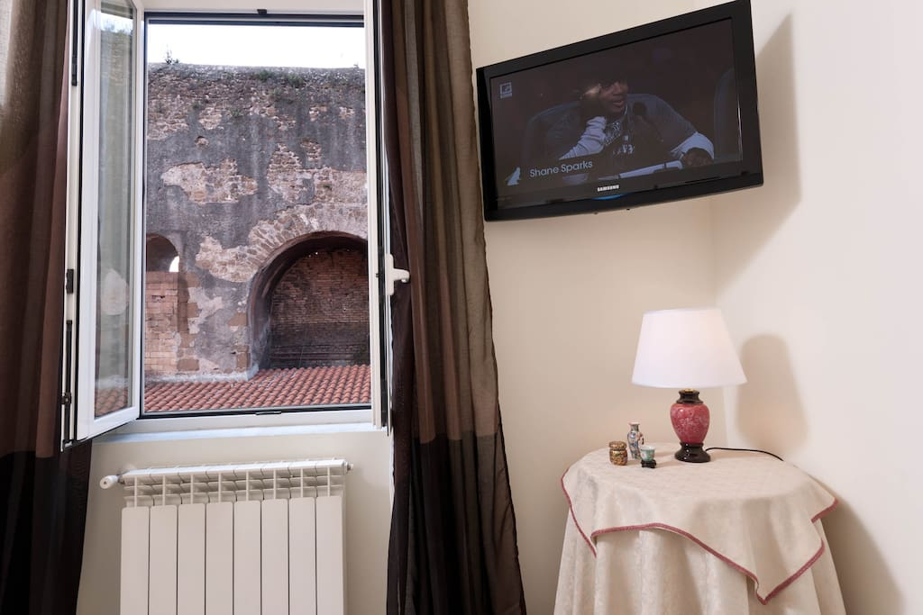 View of the aqueduct from your bed....