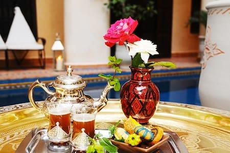 Riad Hadda Chambre Malika - Marrakesh - House