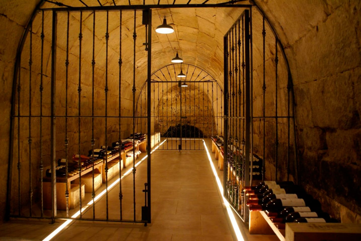 The wine cellar. Our 40 sqm. walk in minibar is at you disposal!