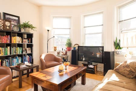 Sunny Rm, Awesome Apt (Harvard/MIT) - Cambridge - Apartment