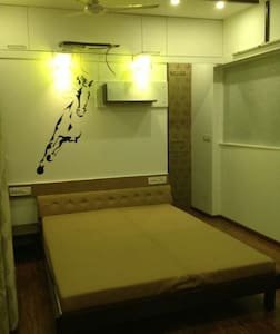 Luxury double room with ACA33333353 - Kolhapur - Apartment