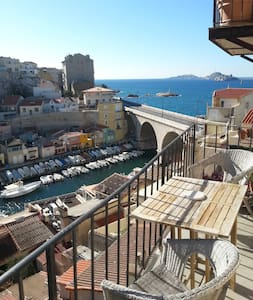 Room available in Vallon des Auffes - Appartement