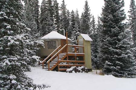 The Lime Creek Yurt - Creede - Jurta