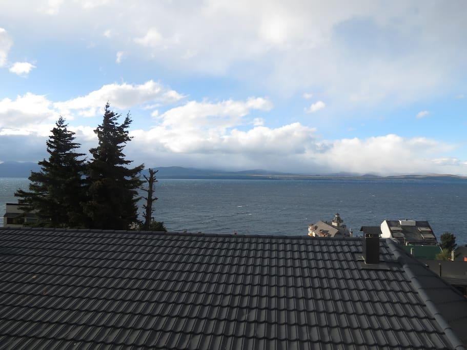 View from the bow-window - Nahuel Huapi Lake