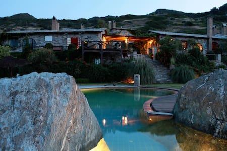 Aegean Island villa, near Athens  - Styra - 別荘