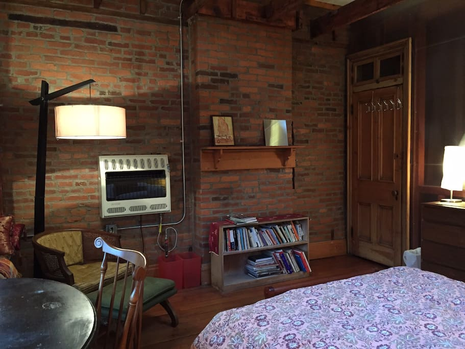 Tons of privacy in these rooms as you have the entire third floor all to yourself!