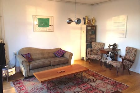 Join me in our comfortable, artsy and clean apartment in Amsterdam West (the Baarsjes). It's an upcoming area near the center with lots of great new bars and restaurants. I'll help you anytime to make sure you experience Amsterdam at its fullest.