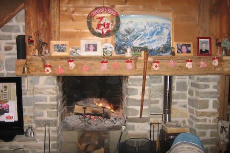 Chambre 2 pers. petit déj. inclus - Saint-Jean-d'Arves - Bed & Breakfast