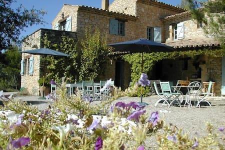 Charming quiet Mas in the vineyards - Roaix