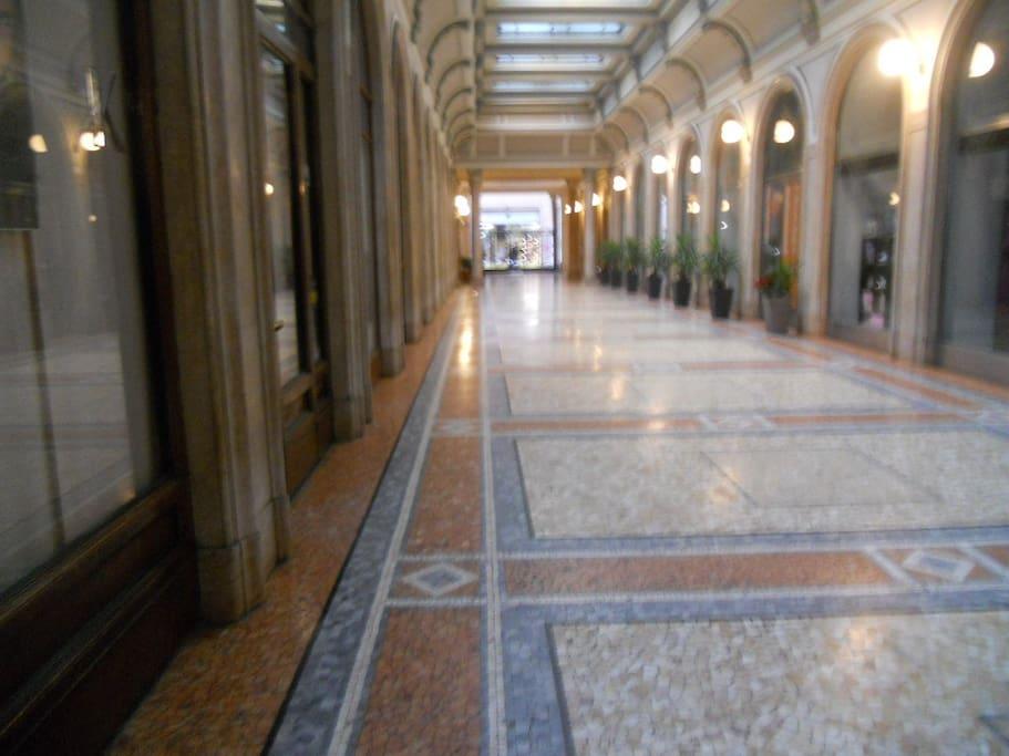 Ingresso - Galleria Mazzini