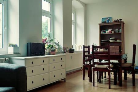 Sonniger gemütlicher Altbau  -  sunny cozy rooms - Apartament