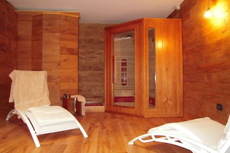 In villa con sauna e palestra - Lejlighed