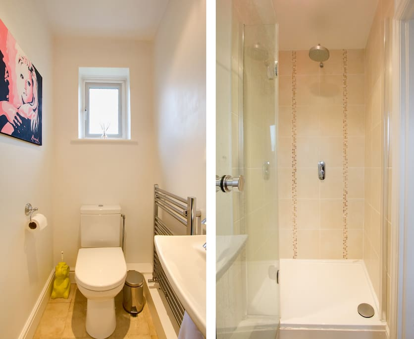 This is the ensuite to the Garden Room.