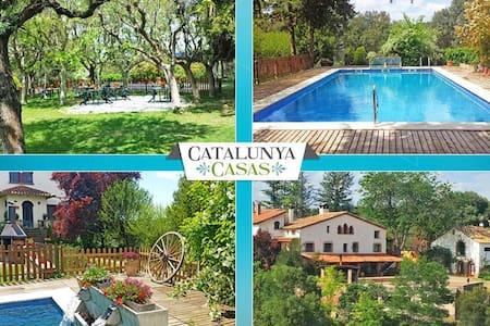 Masía de Gaia para hasta 20/ 39 huéspedes en la zona rural de Cataluña - Barcelona Interior