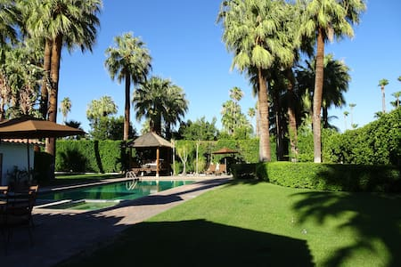 Charming 2BR, 2BA 975 sq ft Old Las Palmas Casita. - Palm Springs