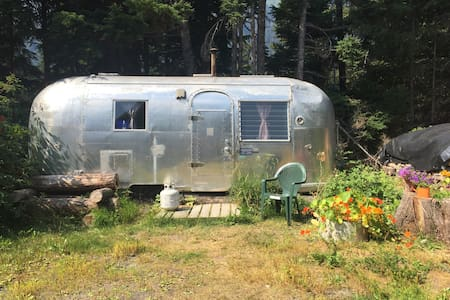 Airstream in Girdwood, Alaska - Camper/RV