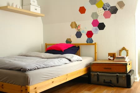 Künstlerwohnung auf 2 Etagen - Bed & Breakfast