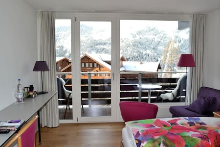 Balcony room with mountain view - Bed & Breakfast