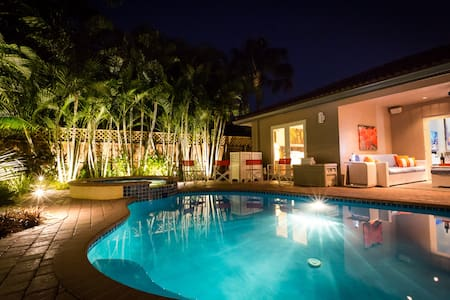 Private Luxury Tropical Oasis, close to Beach - Oakland Park