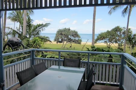 Your Absolute Beachfront Villa 13,  at Tangalooma