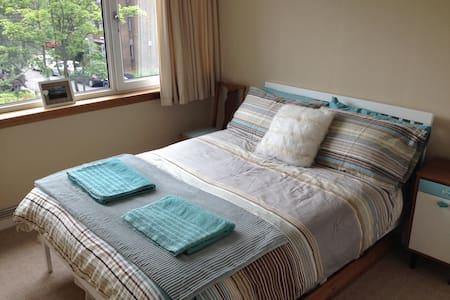 Double room in bright, modern flat in Shawlands - Glasgow - Lägenhet