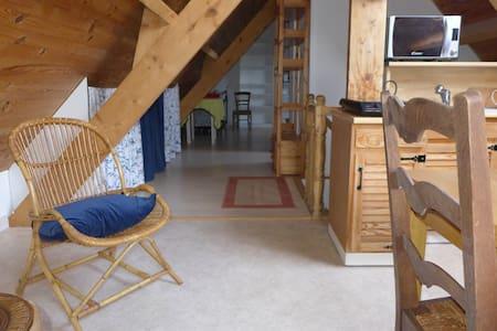 Loft silencieux, très lumineux - Meulan-en-Yvelines - Appartement