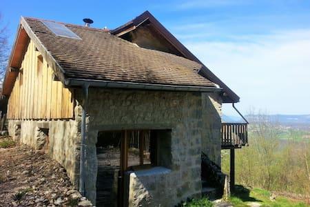 Eco refuge Seyssel Entre Rhône et Grand Colombier - Corbonod - Earth House