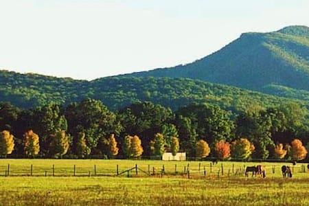 Horse Farm in the Shenandoah Valley - Casa