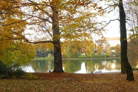 Grünes Lichtenberg am Park und See - Berlim