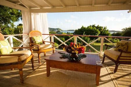 Banana Tree Bungalows, Antigua W.I. - St. Paul - Hus
