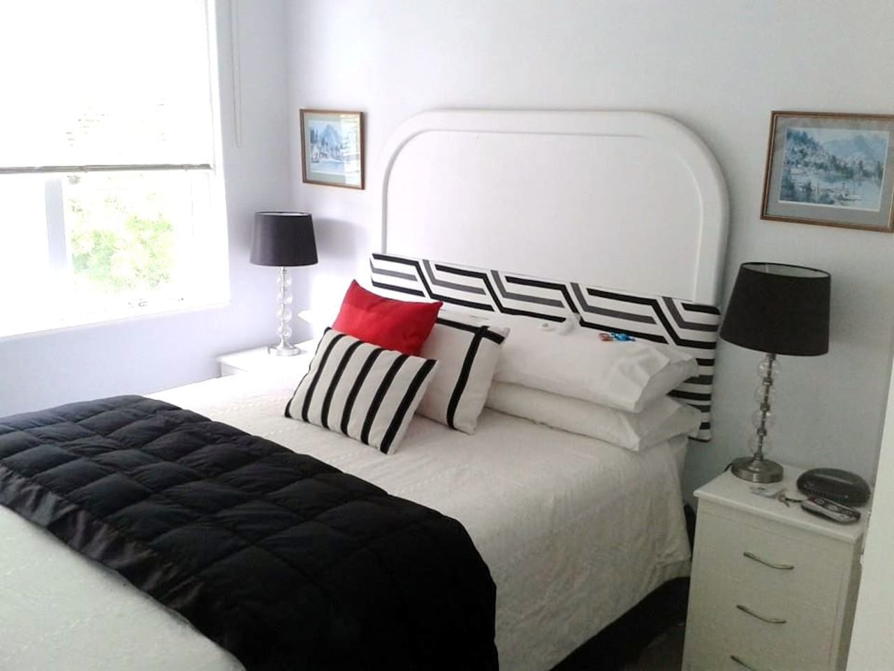 Your bed and room awaits you at Private n' Peaceful Parnell