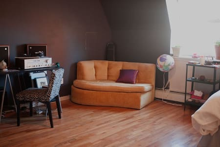 Large private room in apartment