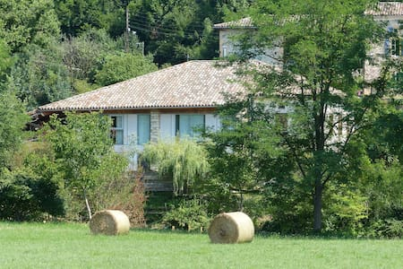 large house spacious and quiet - Mancioux - Huvila